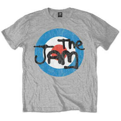 The Jam 'Vintage Logo' T-Shirt - NEW & OFFICIAL!