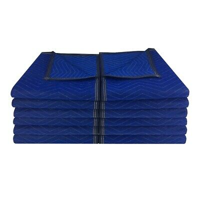 "Moving Blankets (12 Pack) 72x80"" 43lbs Econo Professional Quilted Pads"