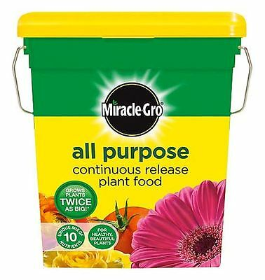 Miracle Gro All Purpose Garden Continuous Release Plant Food Feed 2Kg