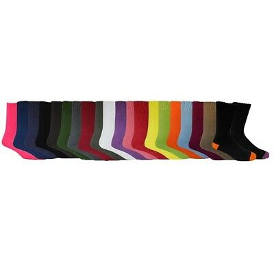Extra Thick 92% Bamboo Work Socks All Sizes All Colours - Hiking Walking Boots