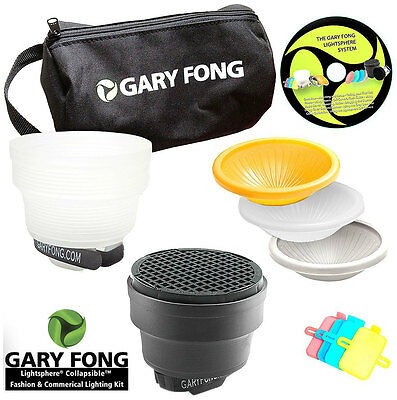 Gary Fong Lightsphere® Collapsible Kit Fashion & Commercial For Canon Nikon Sony
