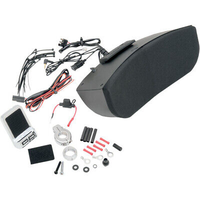 Hogtunes Memphis Shades Batwing Fairing Speaker System Kit