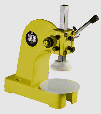 YELLOW NEW POLYMER CLAY KNEADER MACHINE - EASY FAST NEVERknead for Sculpey Kato