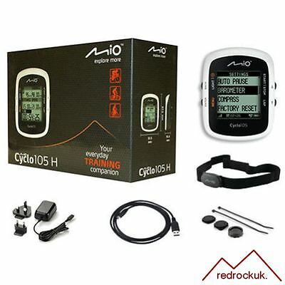 Mio Cyclo 105H GPS Bike Computer ANT+ Cycle Navigation System Heart Rate Monitor