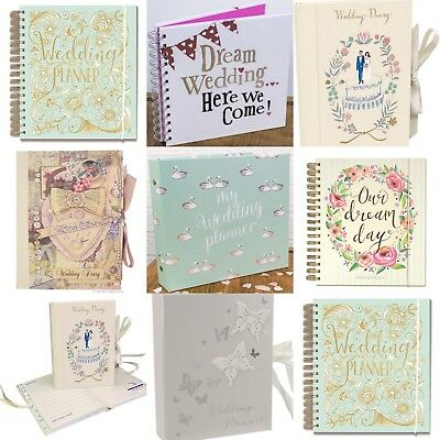 Engagement Gift / Present - Wedding Planner Book (Diary/Journal/Organiser)