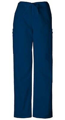 Cherokee Workwear Scrubs Men's Cargo Scrub Pants 4000 Navy Blue
