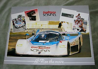 1986 Bardon Db1-Ford Dfl Le Mans 24-Hours Poster