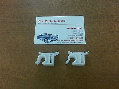 Ford Focus Inc RS MK1 98-05 Handbrake Cable Clips X2