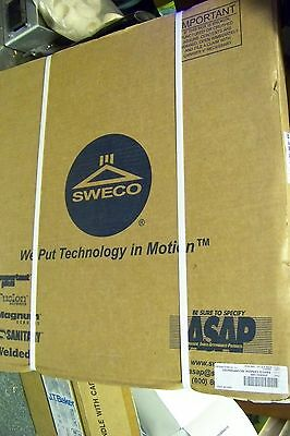 """NEW SWECO 24A8A016m SIEVE SCREEN 24"""" 16 micron"""