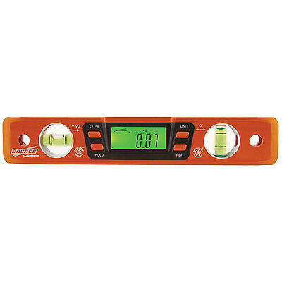 Swanson SVT200 9-inch Savage Digital Torpedo Level with Neodymium Magnets