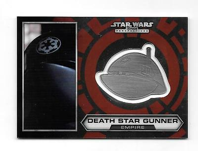 2014 Star Wars Chrome Perspectives Medallion #27 Death Star Gunner