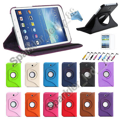 """Tab 4 Samsung Galaxy Tablet T230 7.0 Rotating 360 Case Cover w/ Stand 7"""""""