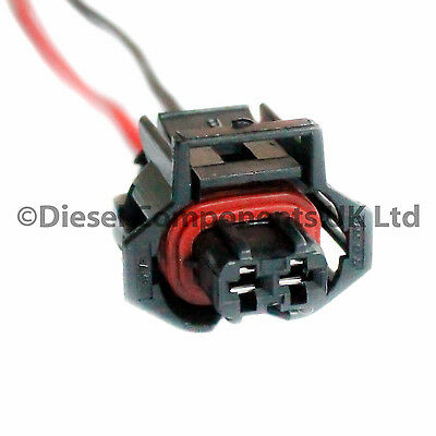 1 x Diesel Injector Plug Electrical Connector Pre-Wired for Vauxhall Vectra