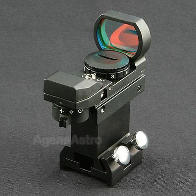 Agena Multi-Reticle Reflex Finder with B1 Bracket and Vixen / Synta Style Base