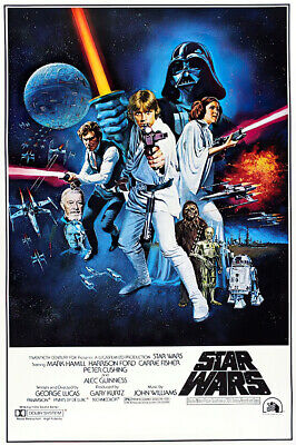 "Star Wars: Episode Iv - A New Hope - Movie Poster (Style C) (Size: 27"" X 40"")"