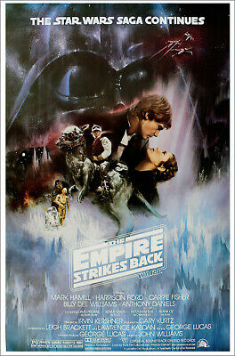 "Star Wars: Episode V - Empire Strikes Back - Movie Poster (Style A) (27"" X 40"")"