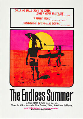 "The Endless Summer - Movie Poster / Art Print (Size: 27"" X 40"")"