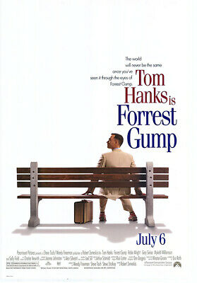 """Forrest Gump - Regular Style Movie Poster / Print (Size: 27"""" X 40"""")"""