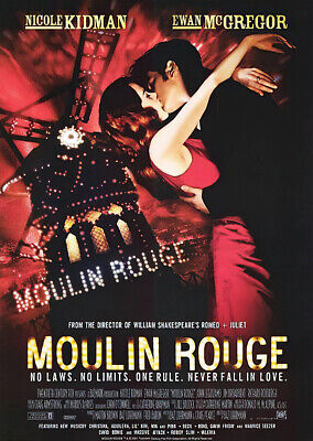 "Moulin Rouge - Movie Poster / Print (Regular Style) (Size: 27"" X 39"")"