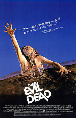 "The Evil Dead - Movie Poster / Print (Regular Style) (Size: 27"" X 40"")"