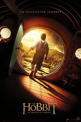 """The Hobbit: An Unexpected Journey - Movie Poster (Teaser) (Size: 27"""" X 39"""")"""
