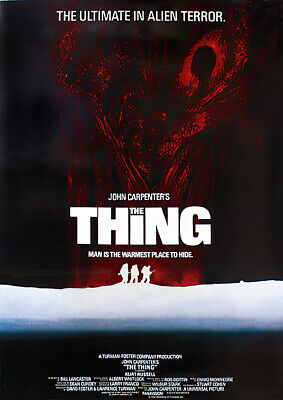 "John Carpenter's The Thing - Movie Poster / Print (Size: 24"" X 36"")"
