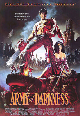 """ARMY OF DARKNESS - MOVIE POSTER (REGULAR STYLE) (SIZE: 27"""" x 39"""")"""