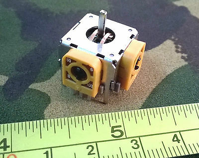 2-Axis B10K Linear Joystick Potentiometer, Analog Controller Pot 2C2