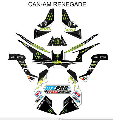 Can Am  Graphic Kit RENEGADE