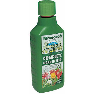 Maxicrop Natural Seaweed Extract Plus Complete Garden Feed Fertiliser 500Ml