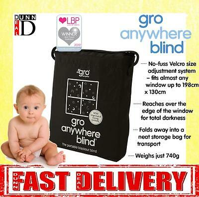 Brand New Gro Anywhere Baby Magic Portable Travel Blackout Blind NEWEST VERSION