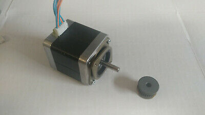 NEMA23 140 oz//in 2.8A Stepper Motor with GT2 Pulley ship from Chicago
