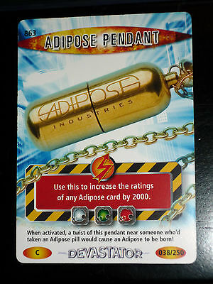 Doctor Who Adipose Pendant 863 Card Battles In Time Carte Bbc 2008 Game Tcg