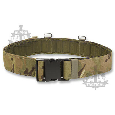 British Army Style Plce Webbing Belt Mtp / Multicam Quick Release