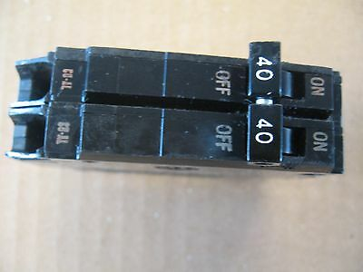 lot of 2 GE THQP240 CIRCUIT BREAKER two 2 POLE 40 AMP