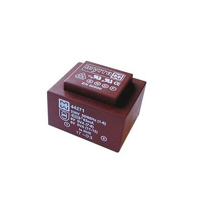 Encapsulated Mains Insulated 230V PCB Power Transformer 5VA 0-12V 0-12V Output