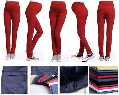 Maternity trousers,Pregnancy pants,slim leg,belly support,office formal legging