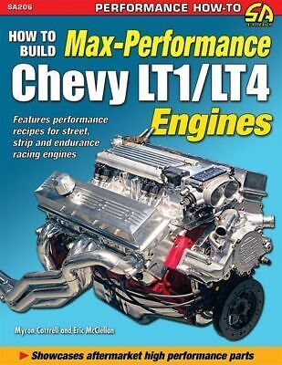 LT1 Engine Performance Book 1994 1995 1996 Impala Caprice Chevy Buick Roadmaster