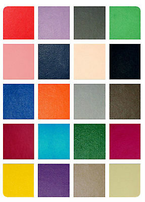 "Plain Handicraft Felt Fabric - Wool / Viscose Material - 90cm (36"") wide"
