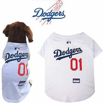 7585eecf335 MLB Pet Fan Gear LA LOS ANGELES DODGERS Dog Jersey Dog Shirt for Dogs XS-