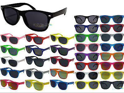 Kids Wayfarer Sunglasses Classic Dark Lens Shades UV400 Boys Girls Childrens