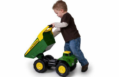 John Deere 35350 21-inch Big Scoop Dump Truck sandbox tough for Tractor Loader