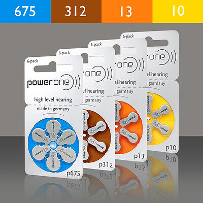 Hearing Aid Batteries Type 10 13,312,675 For Your Hearing Aid: Widex