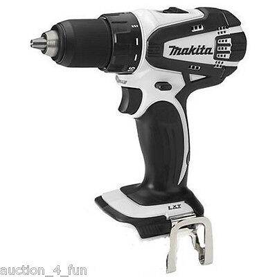 """Makita LXFD01Z W White Cordless 18V LXT 1/2"""" Drill Driver Tool Only NEW Li-Ion"""