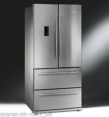 smeg fq55fxe gefrierger t k hlschrank side by side neuheit. Black Bedroom Furniture Sets. Home Design Ideas