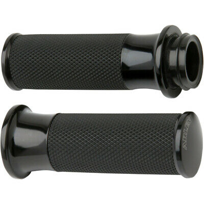 Arlen Ness Fusion Black Smoothie Hand Grips Harley Throttle By Wire Models
