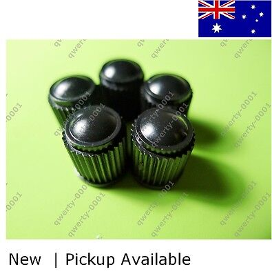 set of 5 top quality tyre valve caps for car , truck , bicycle and etc