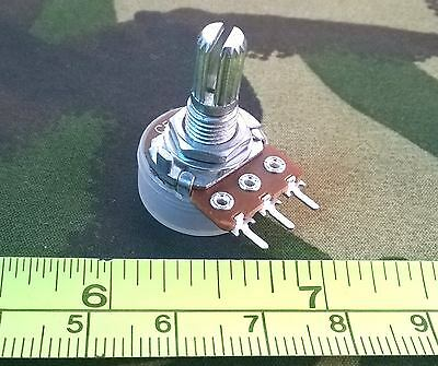 Mono Anti-log Potentiometer 16mm, Reverse Log C Pot with Dust Cap, Various fp