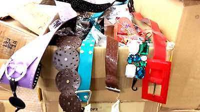 Wholesale Joblot 500+ Assorted Fashion Ladies' Belts Brand New Next Day Delivery