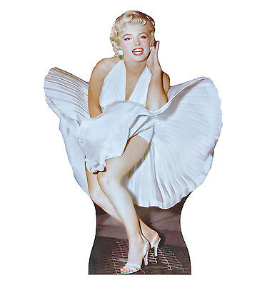 MARILYN MONROE Dress 7 SEVEN YEAR ITCH Lifesize CARDBOARD CUTOUT Standup Standee